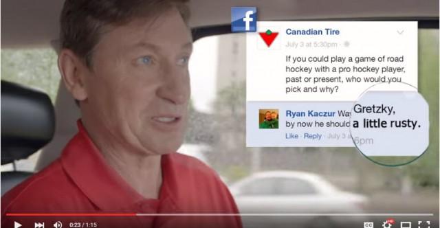 #Veuxtujouer avec Wayne Gretzky