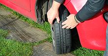Tire performance relies on adequate tread depth